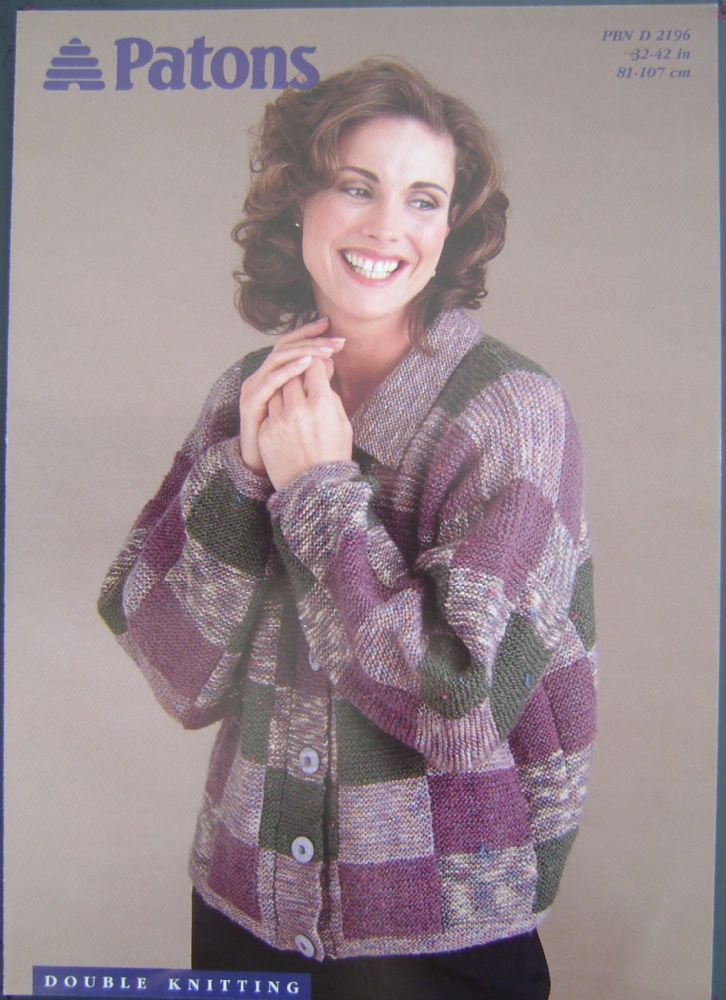Patons Knitting Pattern 2196